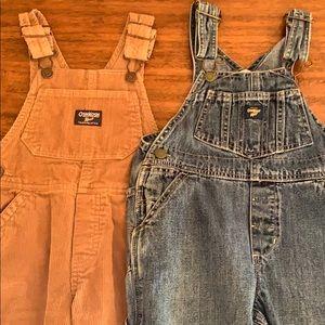 3t Oshkosh b'gosh overalls.